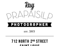Ray Prop Photography Business Card