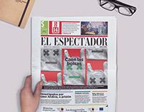 Caen las bolsas / Press cover