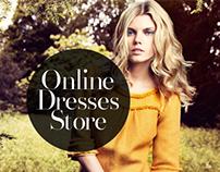 Online store dresses.
