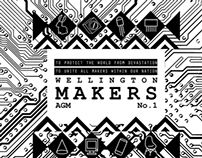 Wellington Makers AGM poster
