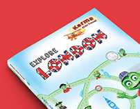 Karma Kids Travel - Book layout design