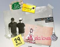 Niko&Alf  Live + Mostra di ElaLove