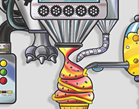 La máquina de helado
