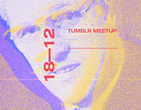 Flyer / TUMBLR MEETUP Vamos a tumblear las paredes
