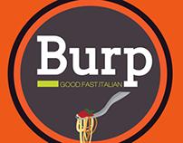 Burp Pasta Branding Identity