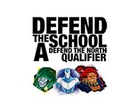 """Defend the School"" Stream Overlays"