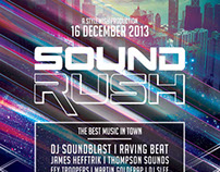 Sound Rush Flyer