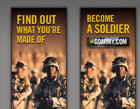 US Army, Banner Ad Campaign