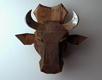 Hunting trophy _ #1 Bull.