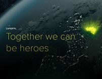 Lampiris campaign website