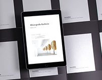 INVISIBLE – an exhibition catalogue for the iPad