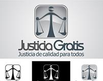 Diseño de Isologotipo Justicia Gratis y Capital Becario