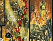 Various Colour Comic Pages