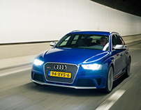 Audi RS4 for Carrepublic