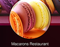 Macarons Restaurant Mobile App