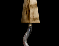 Sconce - Photoshop rendering