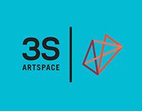 3S Artspace Rebrand