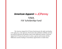 YMA Fashion Scholarship Fund JCPenney Case Study