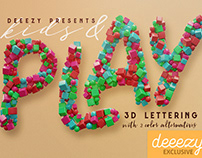 Kids & Play - Free 3D Lettering