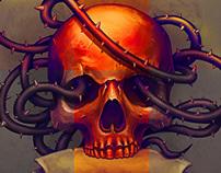 Thorny skull
