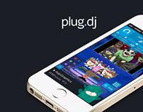 Plug.DJ App Design
