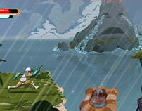 Grief Island - concept level
