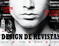 "Design Gráfico // Capa ""Design de Revistas"""