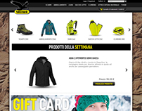Salewa e-commerce redesign