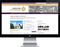 Anglican Communion website redesign