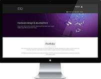 Sony IDD Website redesign