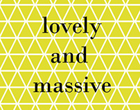 Lovely and massive blog