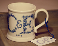 Crabtree & Evelyn 2014 mug