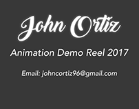 Animation Demo Reel 2017