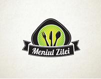 """Meniul Zilei"" logo for hipMenu app"