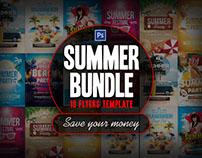 Summer Bundle Flyer Template