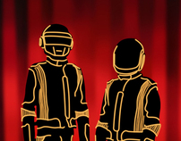 Daft Punk LED Suit - Vexel