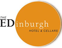Edinburgh Hotel & Cellars Advertising