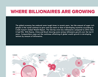 Infographic - 'Where billionaires are growing'