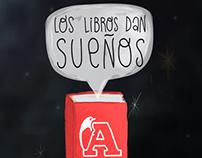 Librería Antártica / Los libros dan sueños