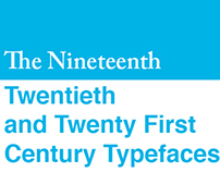 19th and 21st Century Typefaces