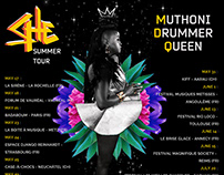 POSTER ARTWORK: Muthoni Drummer Queen