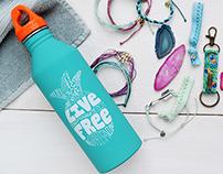 Pura Vida - Water bottle