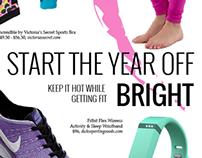 Ambassador Magazine Product Page: Workout Gear