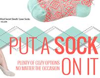 Ambassador Magazine Product Page: Socks