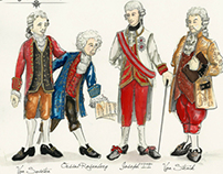 Amadeus - Theoretical Costumes
