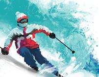 ski - winter spots
