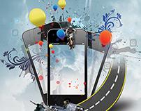 Cloud App Store Flyer Template