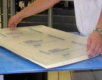 Thermoforming Tactile Signage - Production