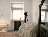 House in the style of «Provence» | Bedroom