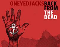 "Oneyedjacks ""Back from the Dead"" album cover"
